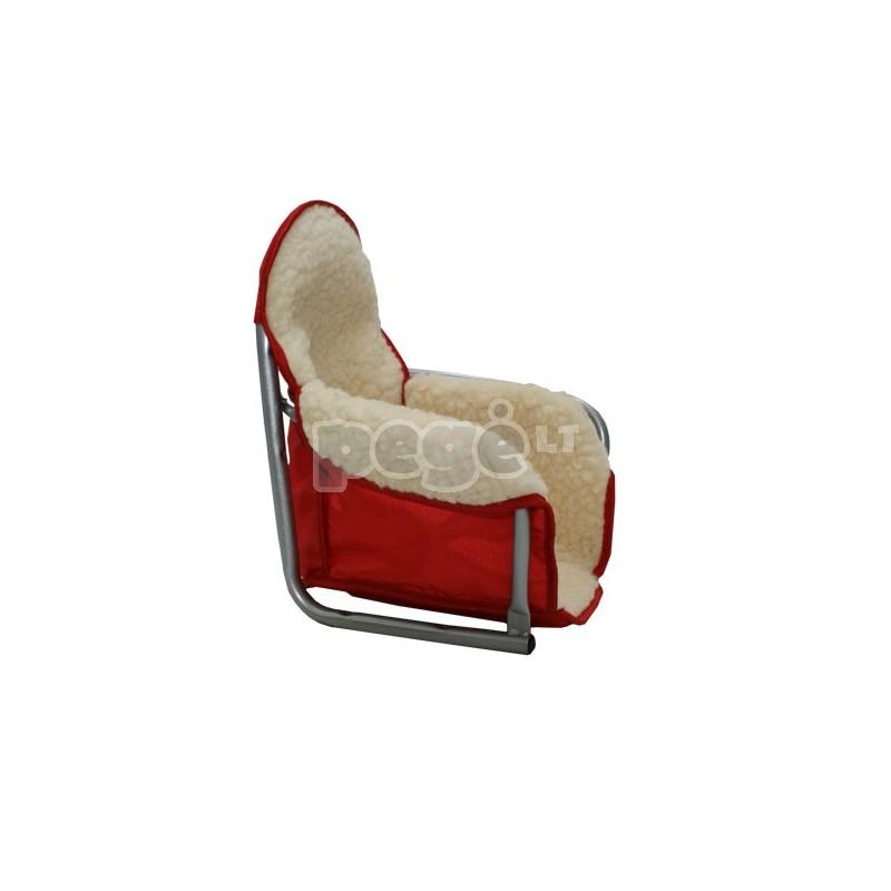 Dvivietės rogės SPORTLUX su amortizatoriais ir  sėdynėmis