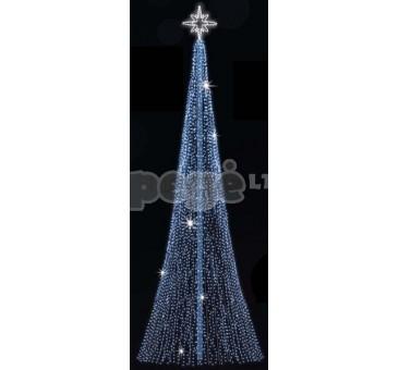 Kalėdinė dekoracija 3D LED Eglutė 300 cm