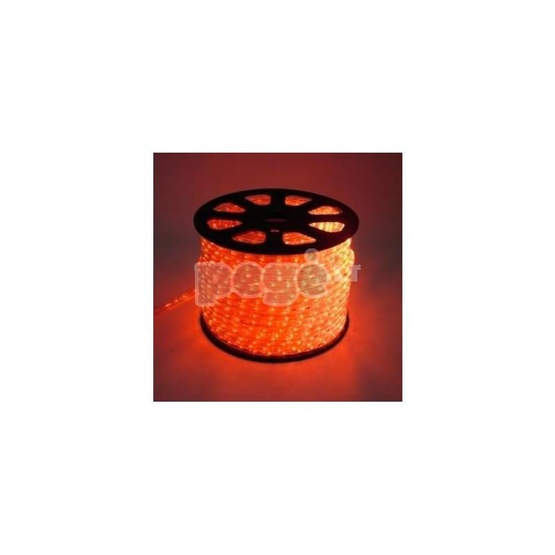 Lankstus šviečiantis LED kabelis, kas 6 diodas blyksi 100 m karp. kas 2m