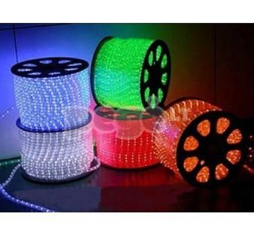LED šviečiantis kabelis karpomas kas 1 metrą