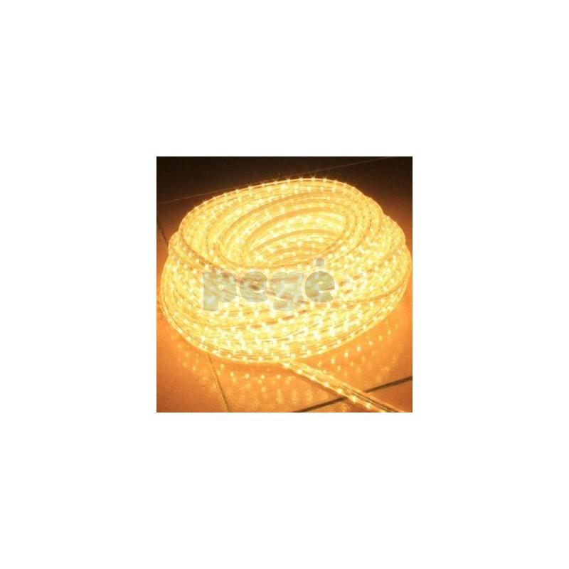 LED blykčiojantis kabelis, karpomas kas 2 metrus
