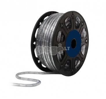 Lankstus šviečiantis mėlynas LED kabelis 50m, karp. kas 1 m
