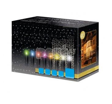 Lauko kalėdinė girlianda LED užuolaida 5 x 1 m, 380