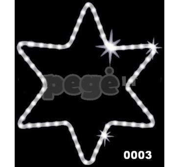 """Kalėdinė dekoracija """"Žvaigždė"""" 75 cm"""