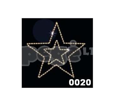 """Kalėdinė dekoracija """"Žvaigždė"""" 100 cm"""