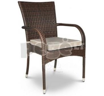 Minkšta pagalvėlė ant kėdės LATTE