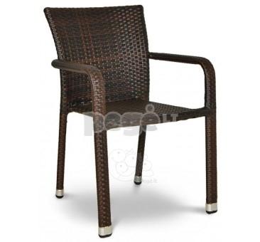 Pinta technoratano kėdė NEGROSO ruda