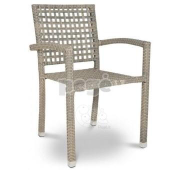 Pinta technoratano kėdė ROKA pilka