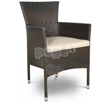 Pinta technoratano kėdė SANROMO ruda