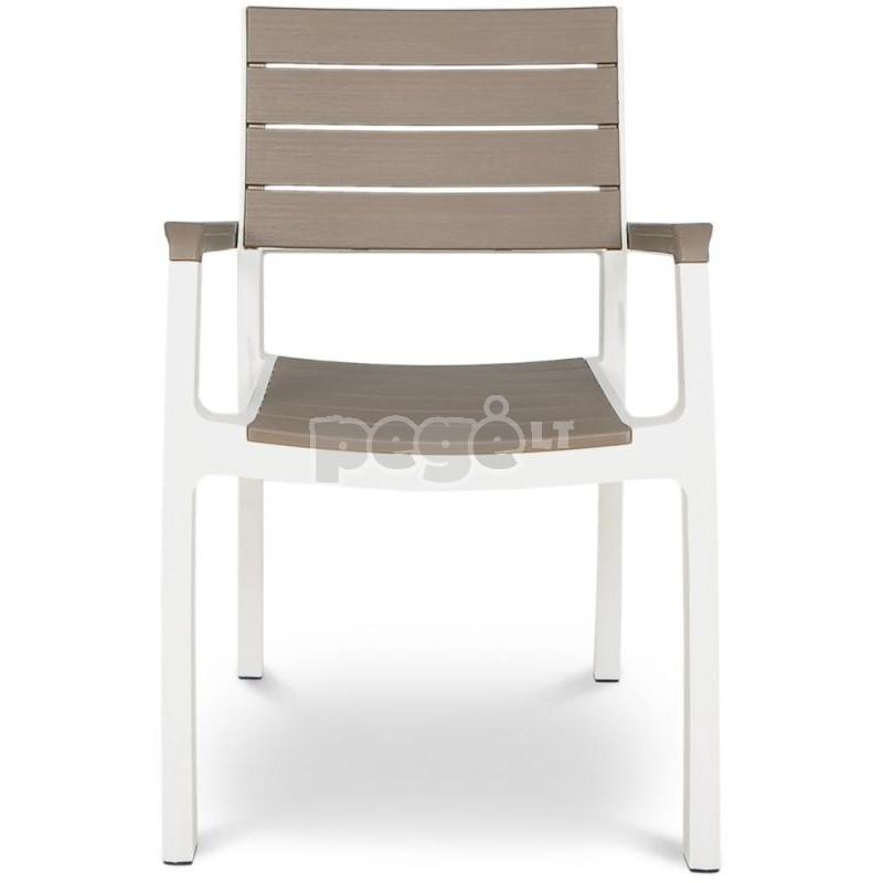 Kėdė FLORENCO WHITE CAPPUCCINO