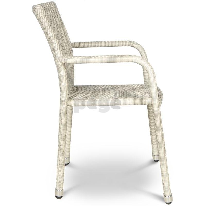 Pinta technoratano kėdė NEGROSO MODERN WHITE