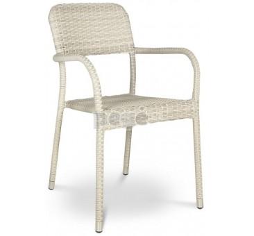 Pinta technoratano kėdė OPAL MODERN WHITE