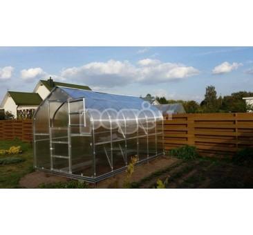 STANDART  Klasika šiltnamis 15 m2 danga 6 mm 3 stoglangiai
