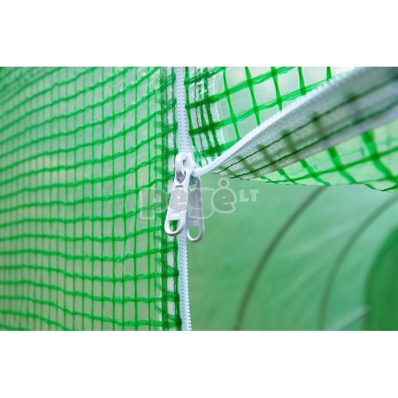 Plėvelinis šiltnamis 13,5 m2 žalias