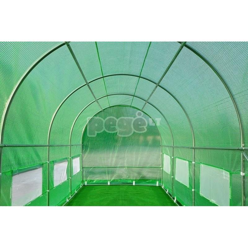 Plėvelinis šiltnamis 18 m2 baltas
