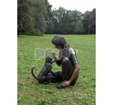 Sodo skulptūra H 69 cm E633