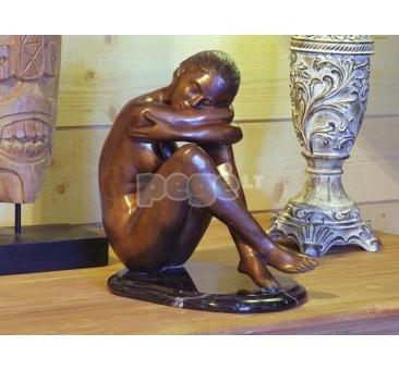 Sodo skulptūra H 37 cm, E504
