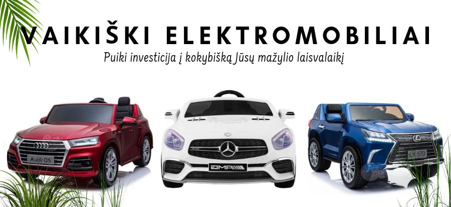 Vaikiški elektromobiliai