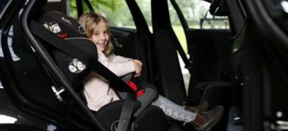 Kaip užtikrinti vaiko saugumą automobilyje?