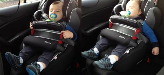Jau dabar pasirūpinkite jūsų vaikui automobiline kėdute!