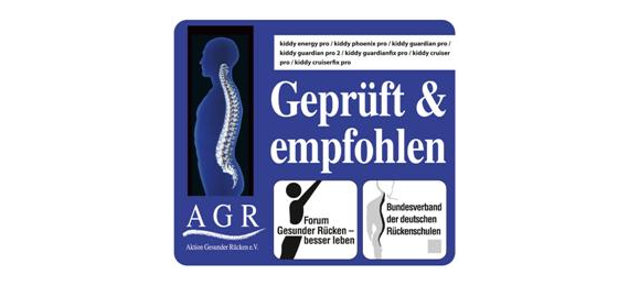 Automobilinės kėdutės - išbandytos ir patvirtintos AGR