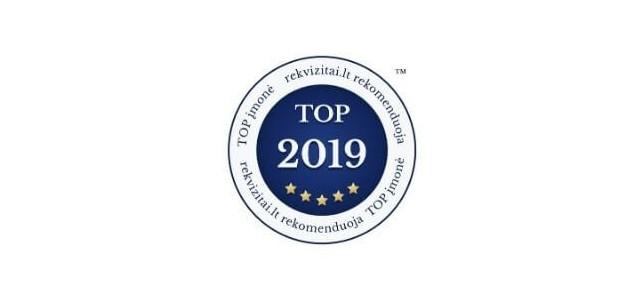 Internetinė parduotuvė PEGE.LT pripažinta TOP įmone 2019!
