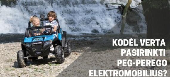 4 priežastys, kodėl verta įsigyti PEG-PEREGO elektromobilį!